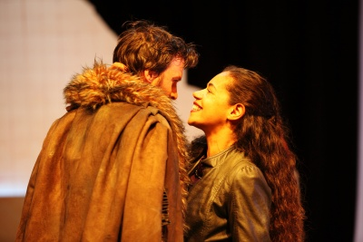 Jonah Russell and Jaye Griffiths in Gwyneth Lewis' Clytemnestra