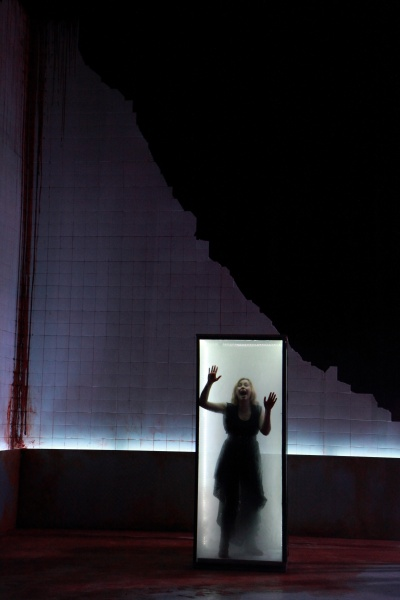 Rhian Blythe as Electra in Gwyneth Lewis' Clytemnestra