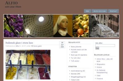 Blog in Rome