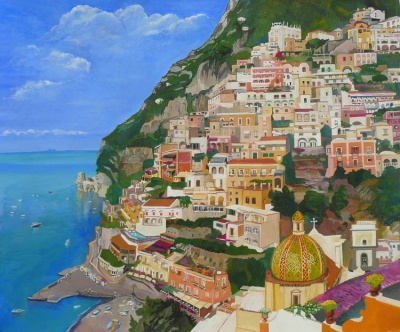 janice_windle_positano_from_la_sponda