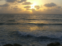 Mediterranean Sunset - Saliba Sarsar